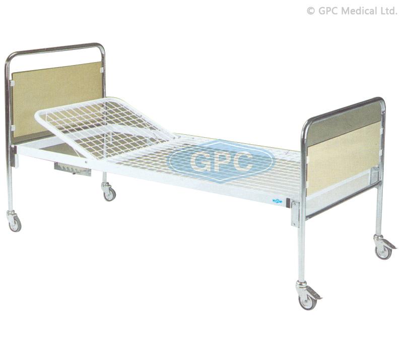 Hospital Bed with Backrest