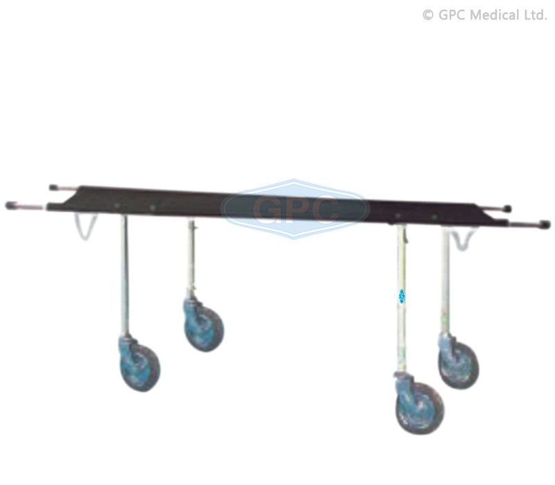 Patient Stretcher Trolley with Canvas Top