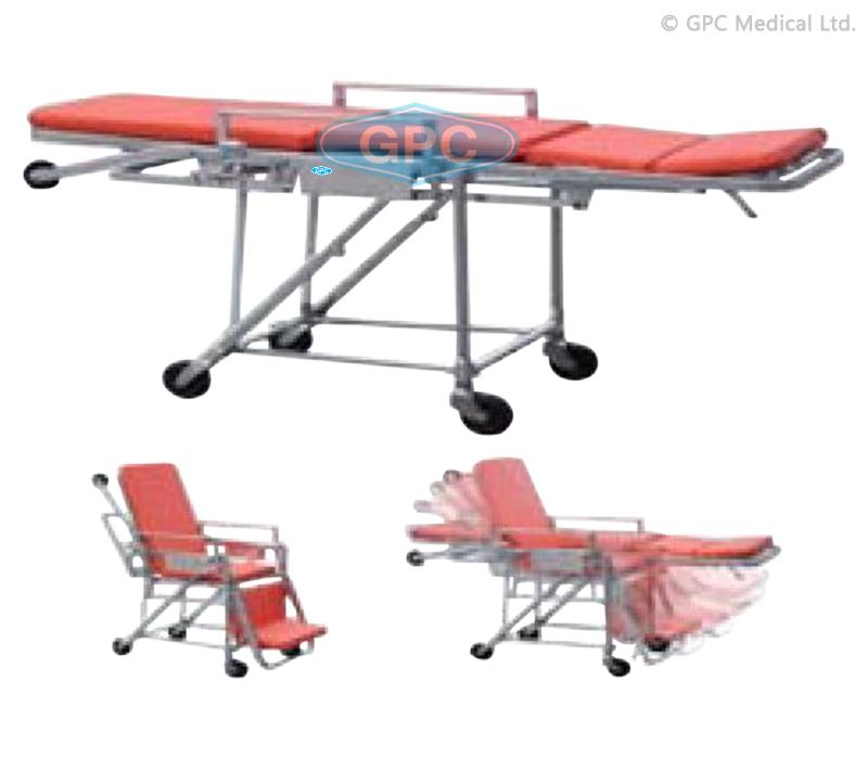 Ambulance Stretcher Cum Wheel Chair