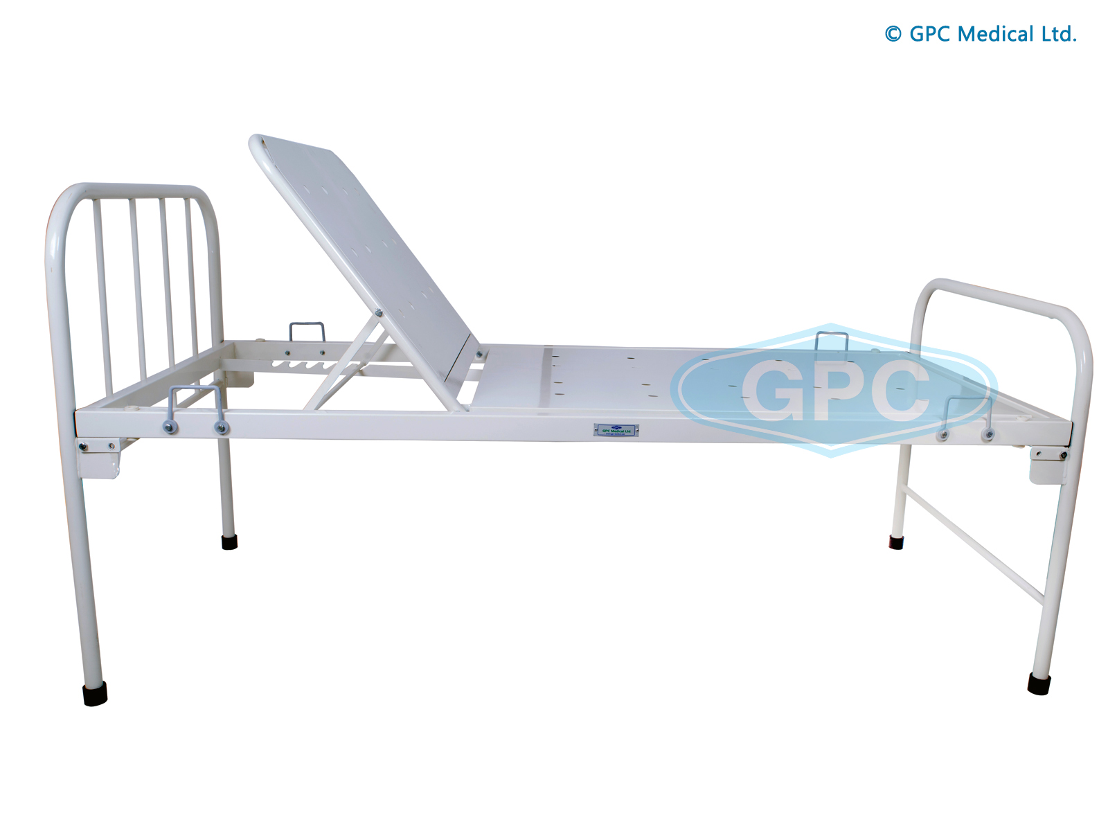 Hospital Bed with Backrest