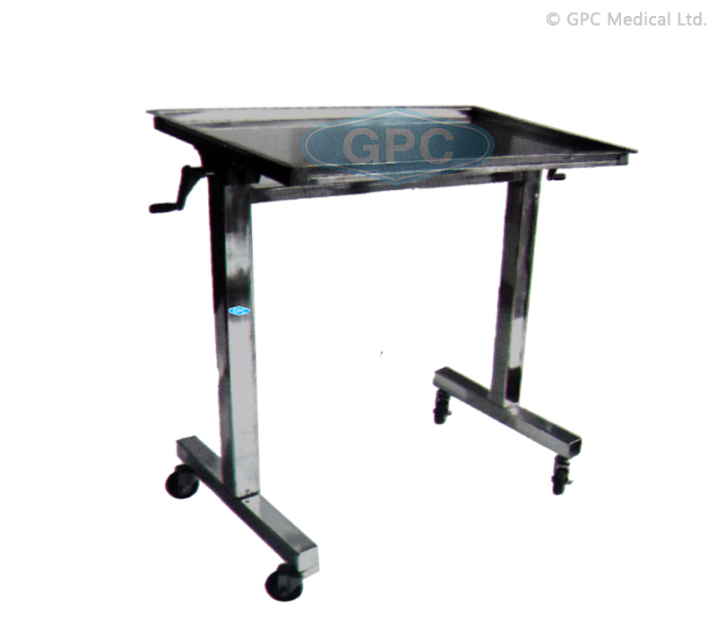 Instrument Mayo Trolley over Bed (Mechanical)